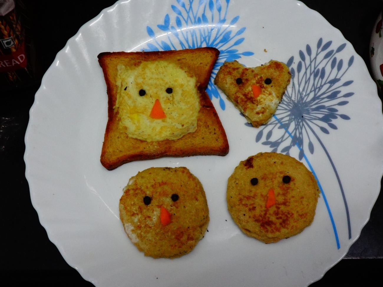 Kids Bread Omelet