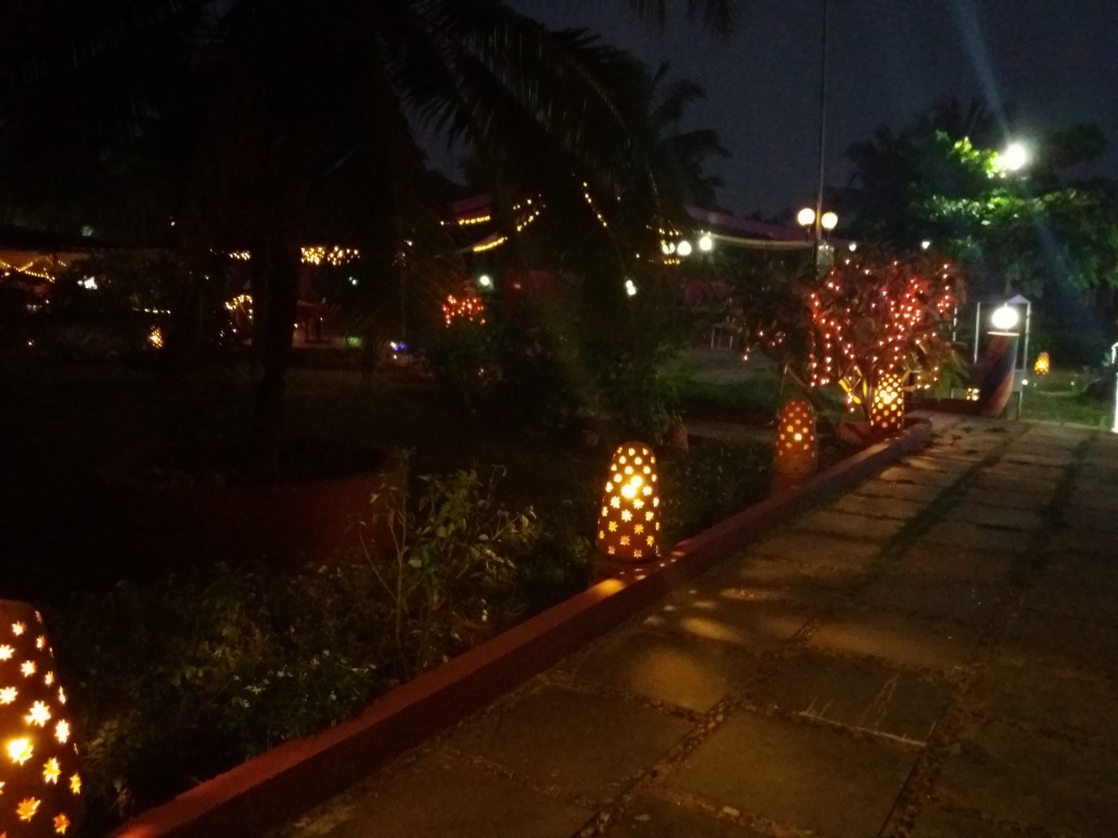 Night party area at Calangute Beach hotels