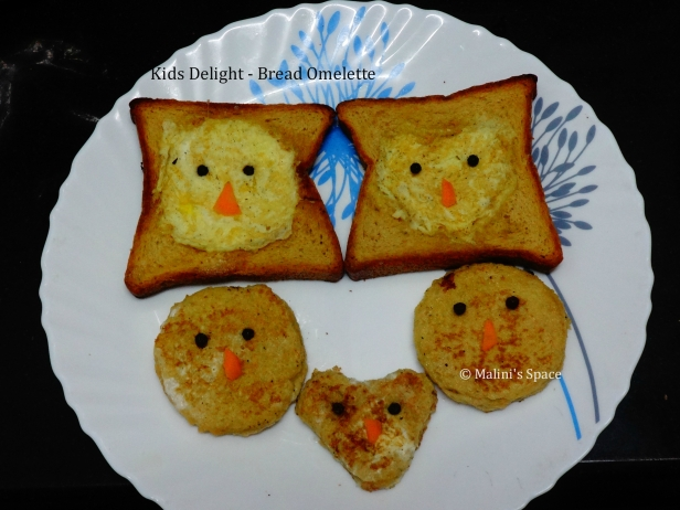 Kids Delight - Bread Omelette