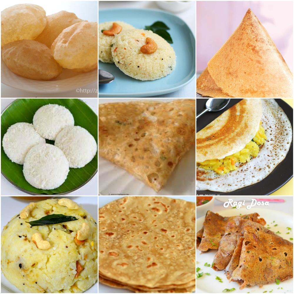 Breakfast Main Items Spread