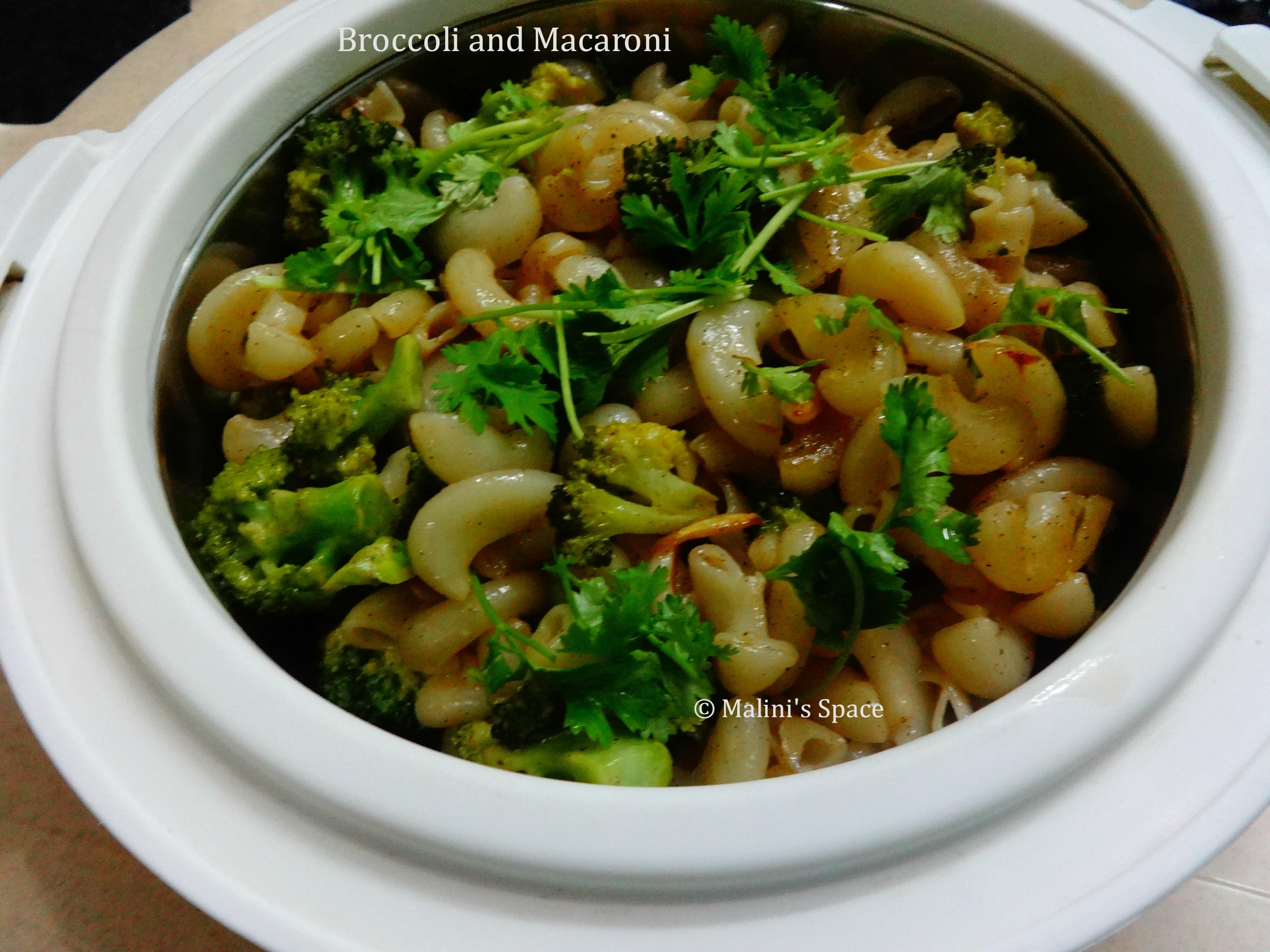 Broccoli and Macaroni