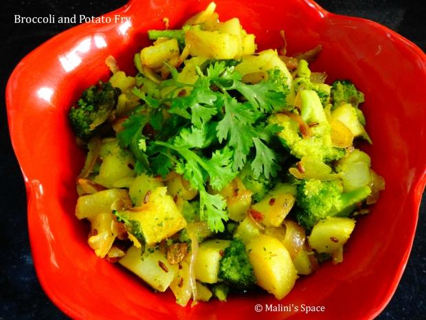 Broccoli and Potato Stir Fry