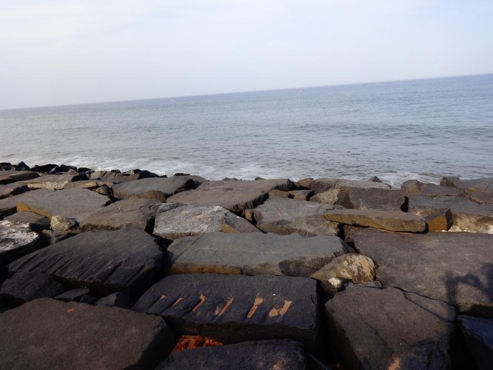 Beautiful View of Pondicherry Beach