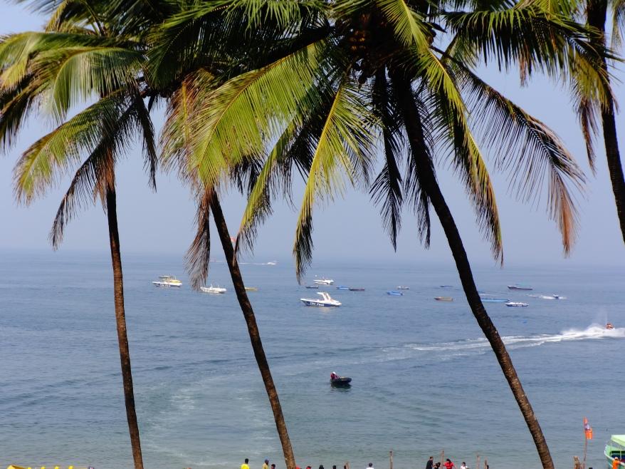 Sinquerim Beach view