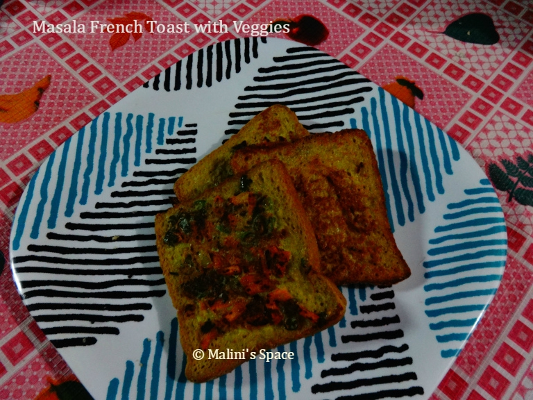 French Masala Toast