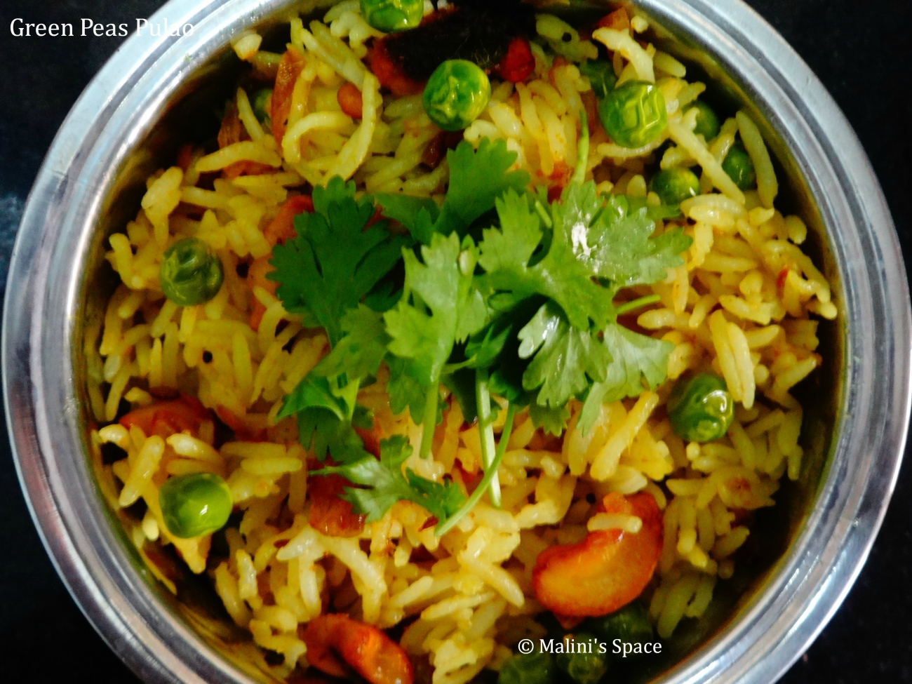 Green Peas Pulao Recipe