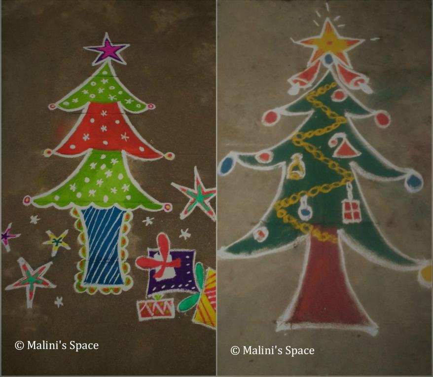 Christmas Day Special Rangoli