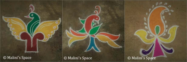 Doorway side special Rangoli
