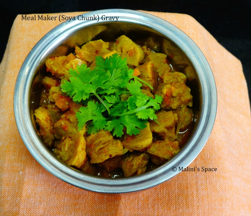 Meal Maker (Soya Chunks) Gravy