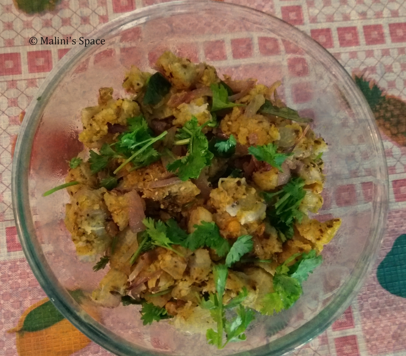 Green Plantain Fry (Valakkai Poriyal)