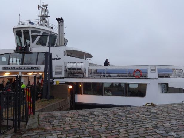 Suomenlinna to Helsinki Ferry