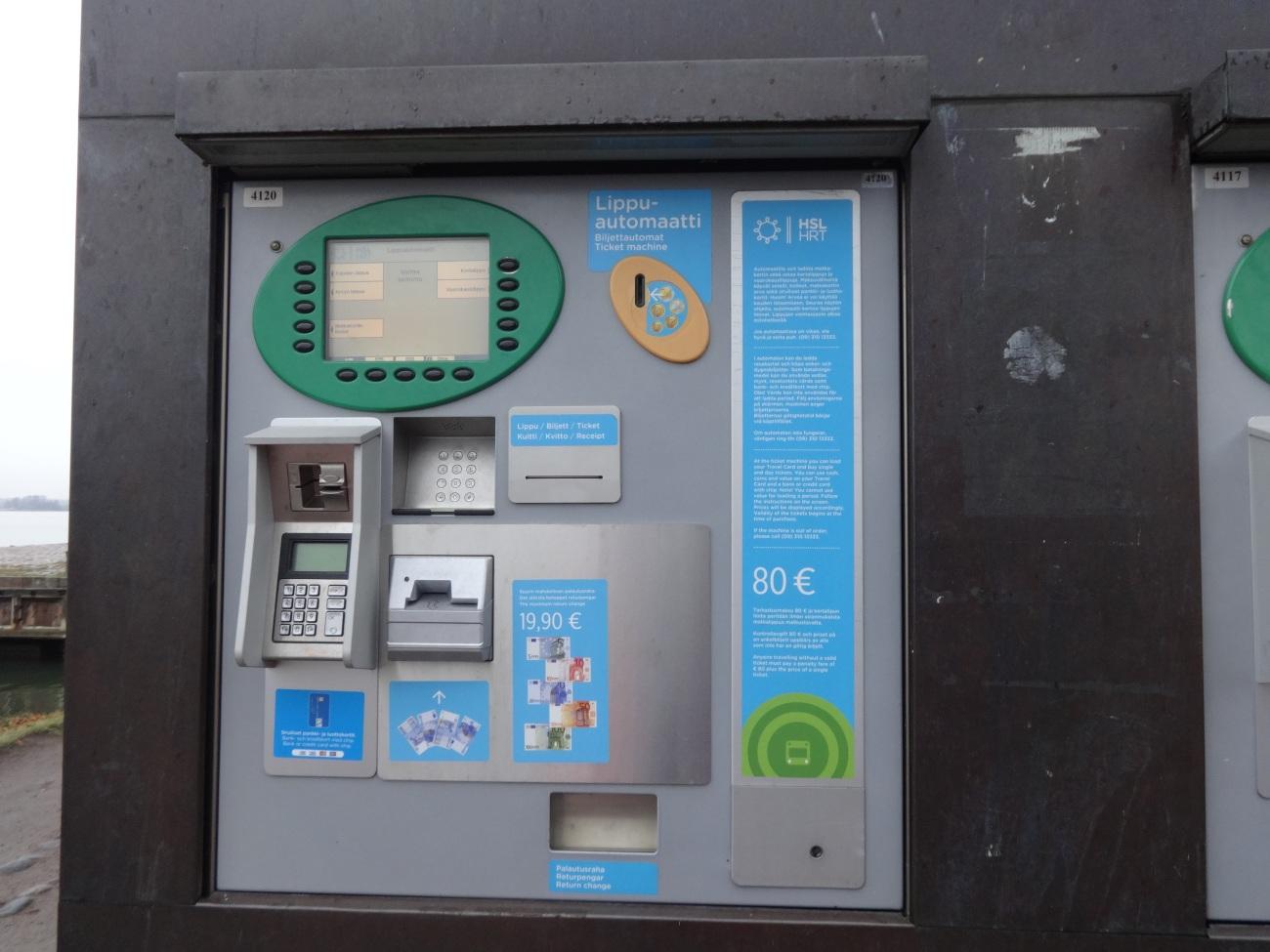 Ticket Vending Machine at Market Square