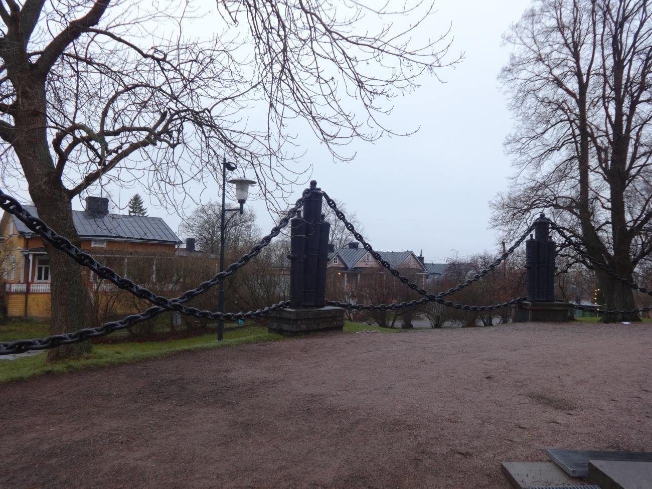 Suomenlinna Church Outside