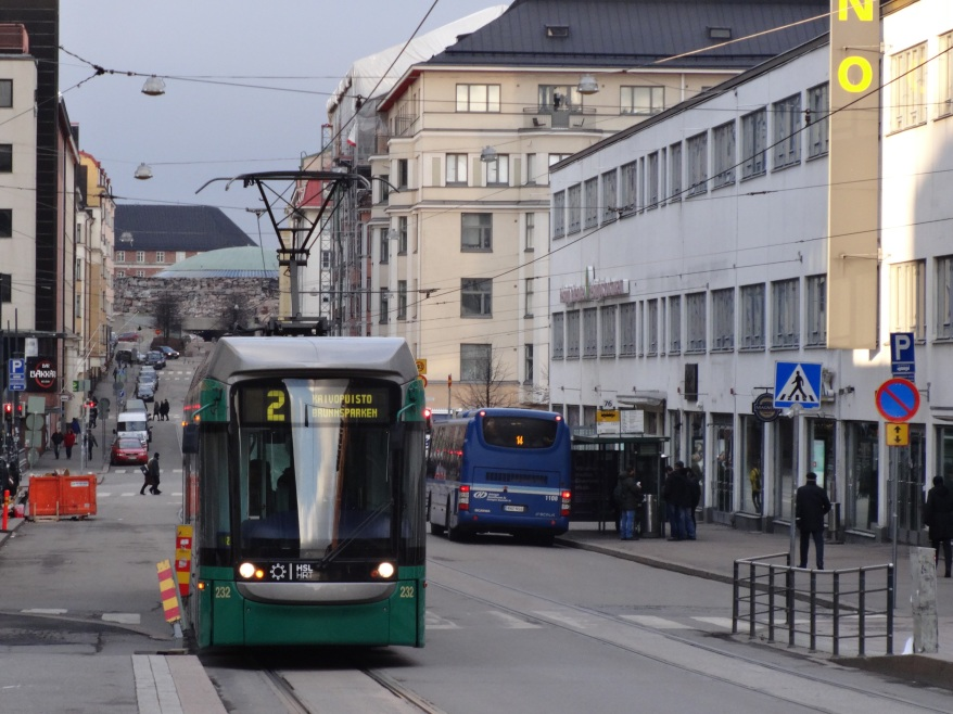 Tram - Local travelling
