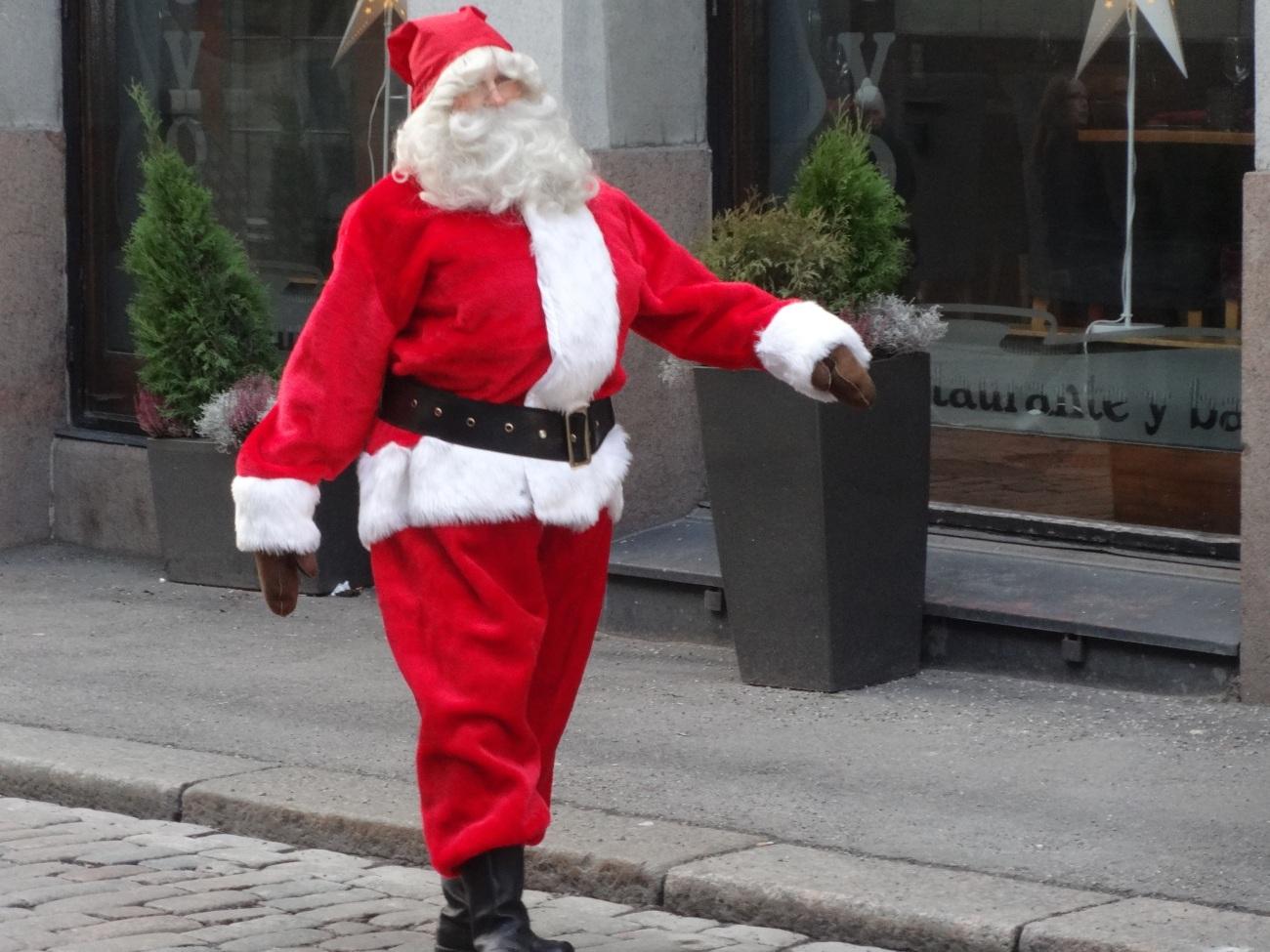 Santa Clause Skit