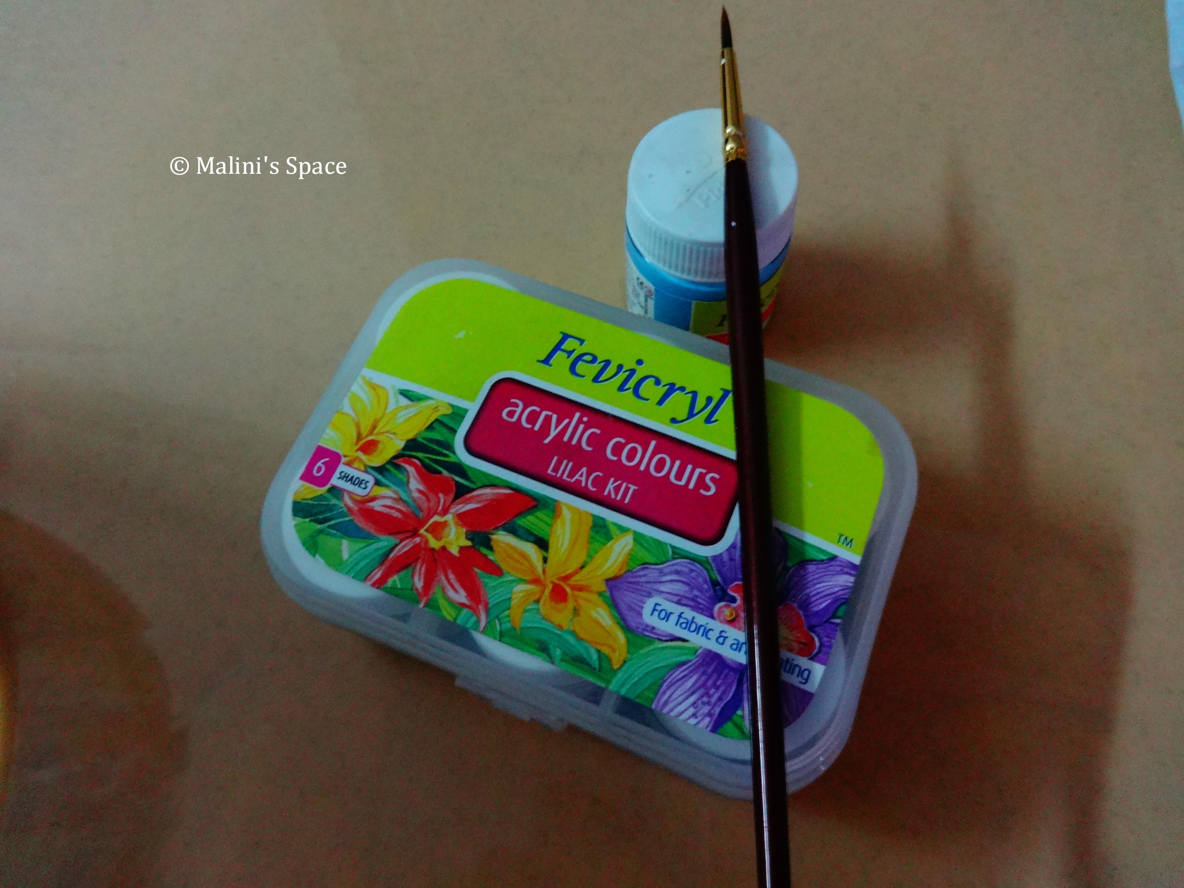 Fevicryl (Acrylic Colours)