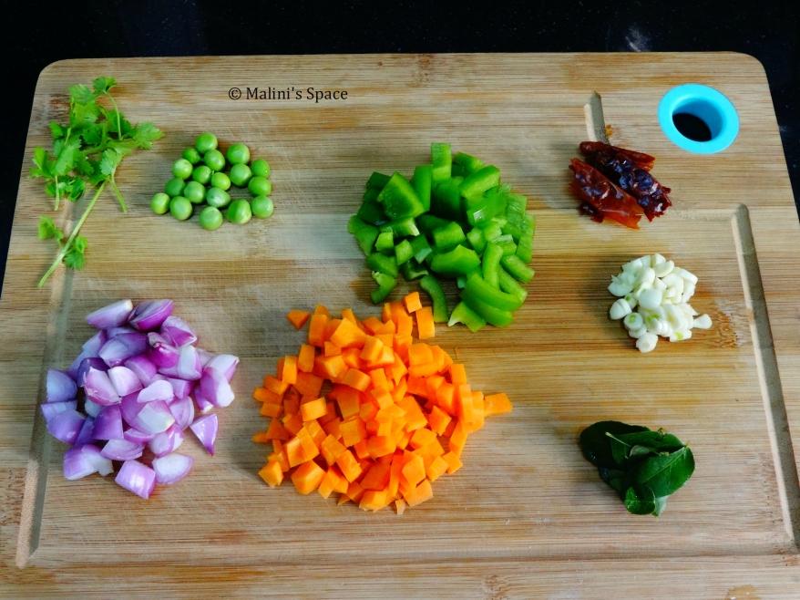 Ingredients for Lentil Oats