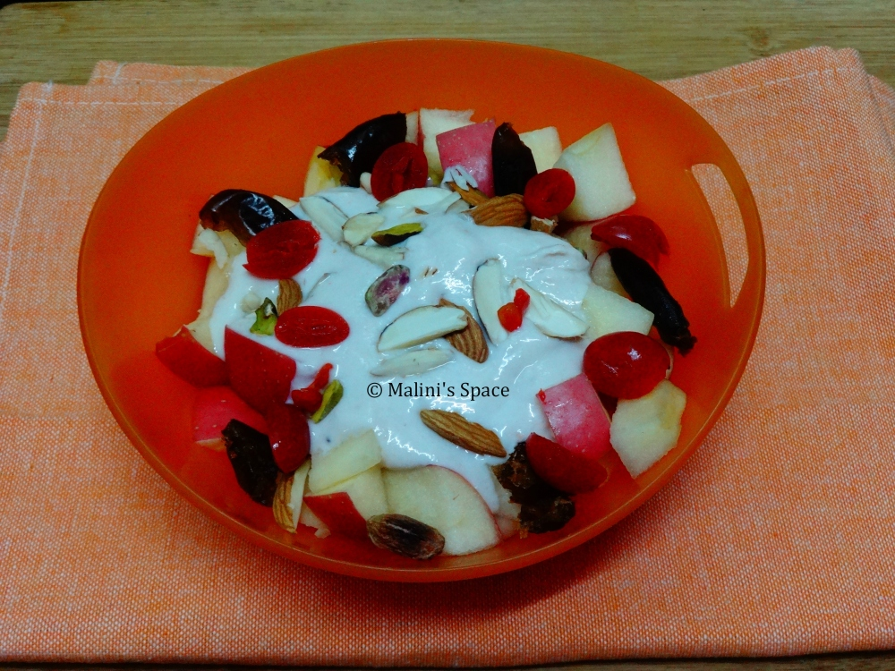 Fruits and Nuts Bowl