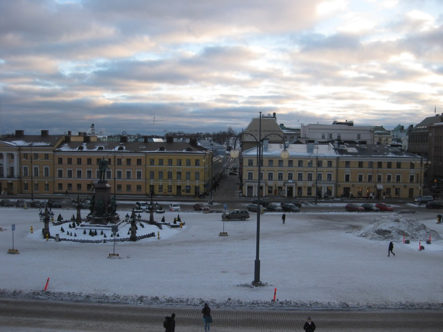 Kruununhaka Winter View
