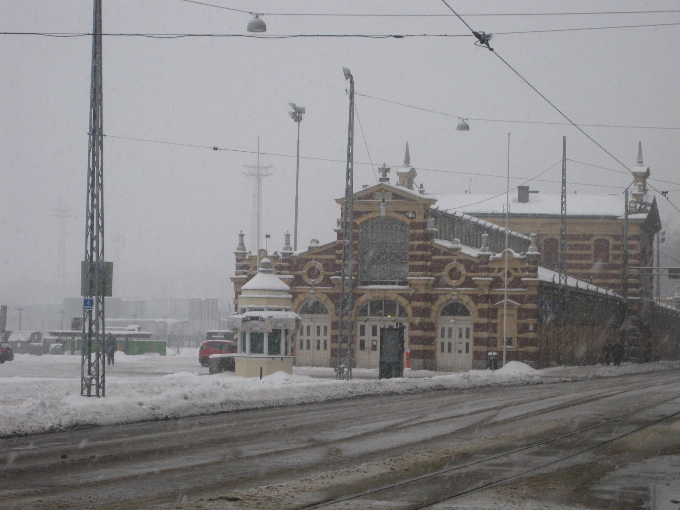 Market Square during Winter