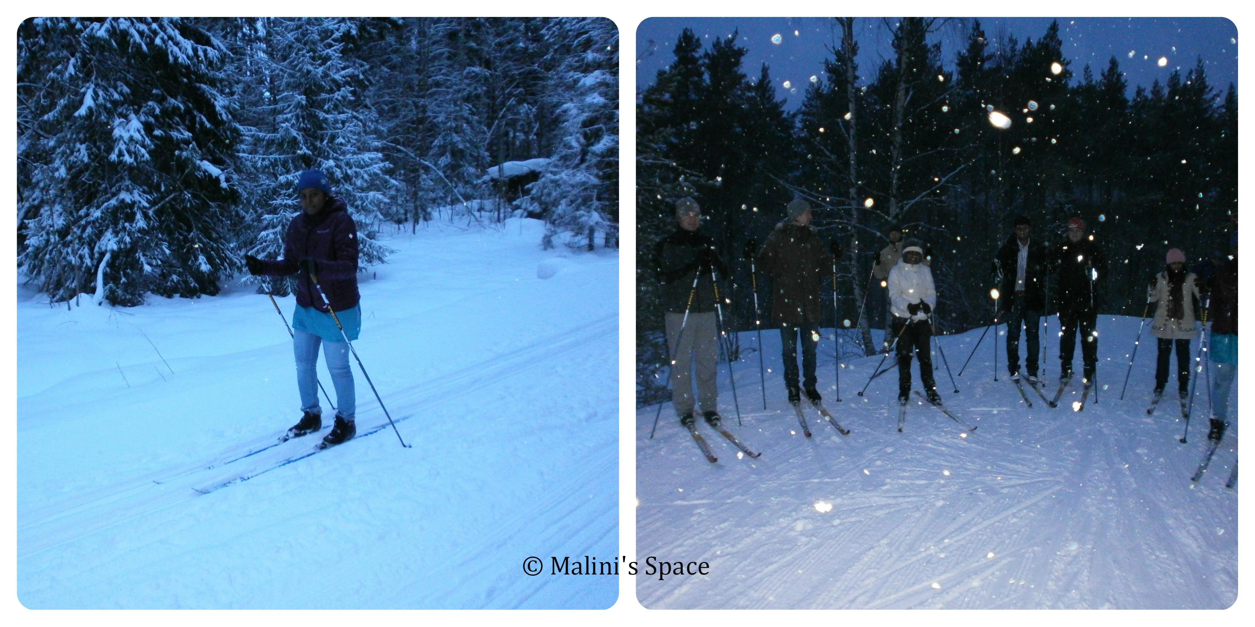 Skiing at Helsinki
