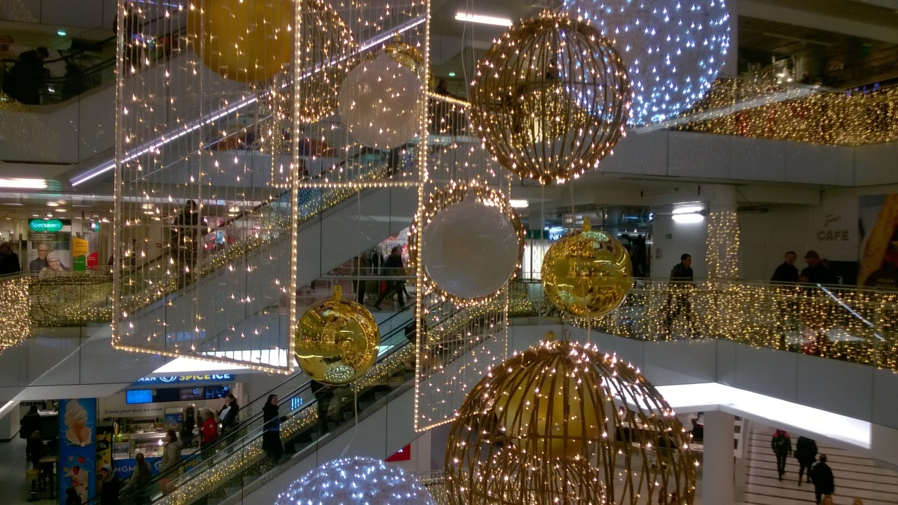 Christmas Decoration at Shopping complex