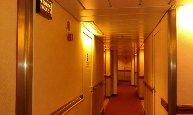 The Hall way for Cabins