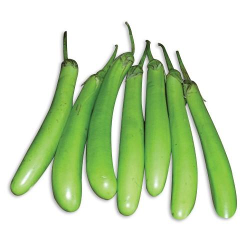Green Brinjal for Vangi bath recipe