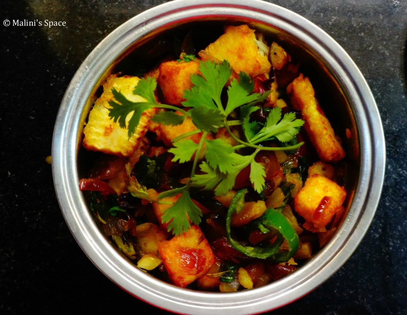 Baby Corn and Paneer Stir Fry