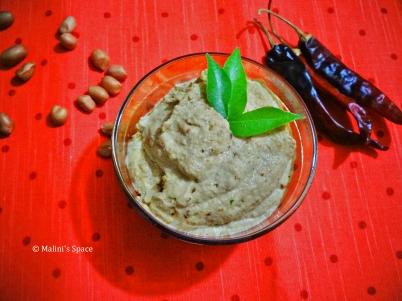Verkadalai Chutney | Peanut Chutney