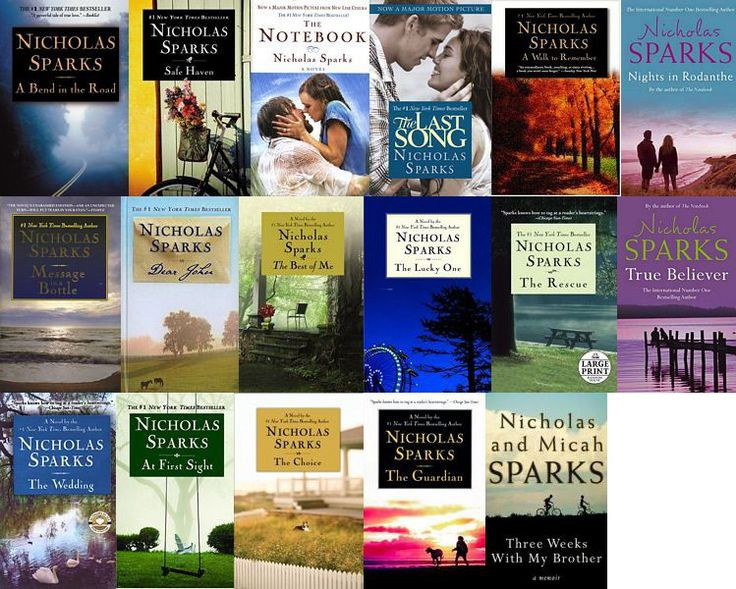 Nicholas Sparks Book Collection