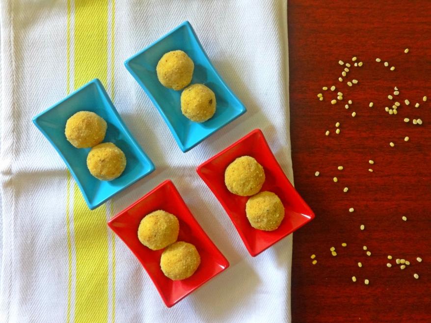 Moong Dal Ladoo Recipe