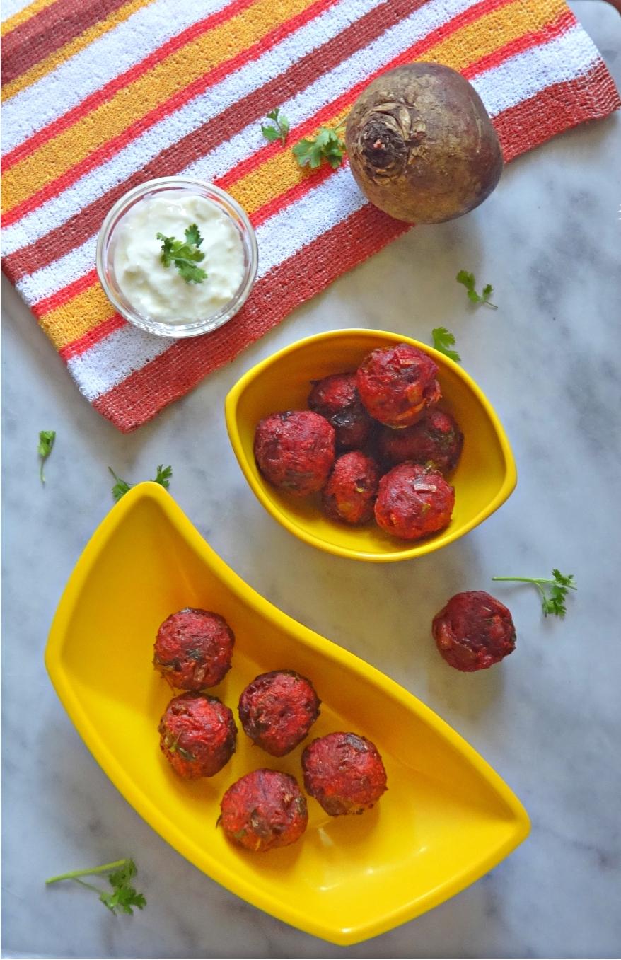 Beetroot Balls Recipe