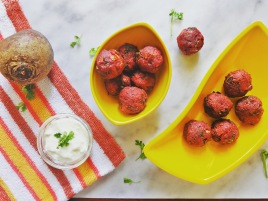 Beetroot Balls Recipe