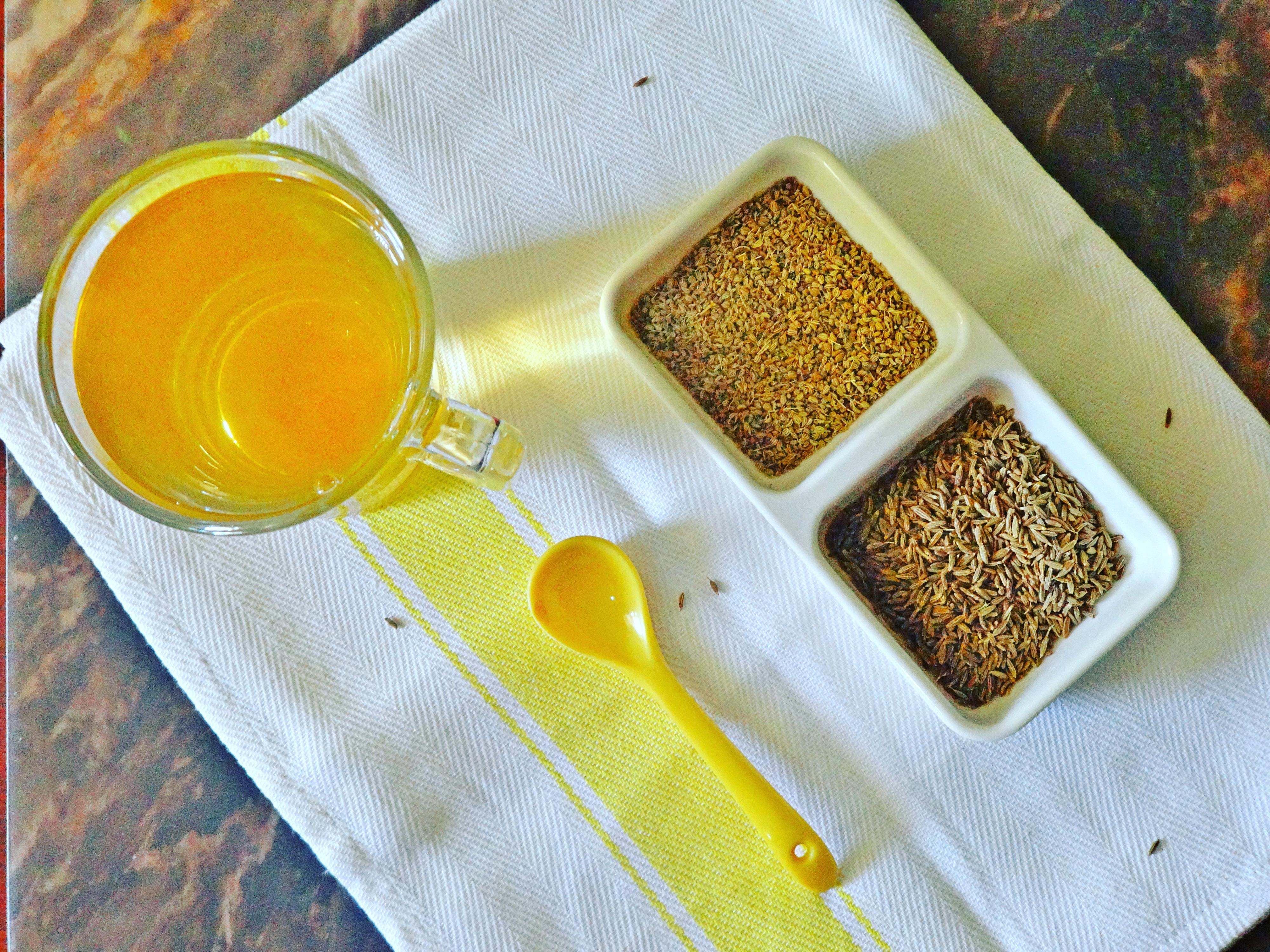 Ajwain and Jeera Water - For Detox, weight loss.