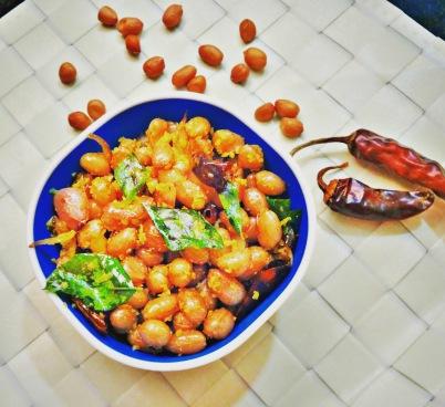Peanuts Sundal | Verkadalai Sundal