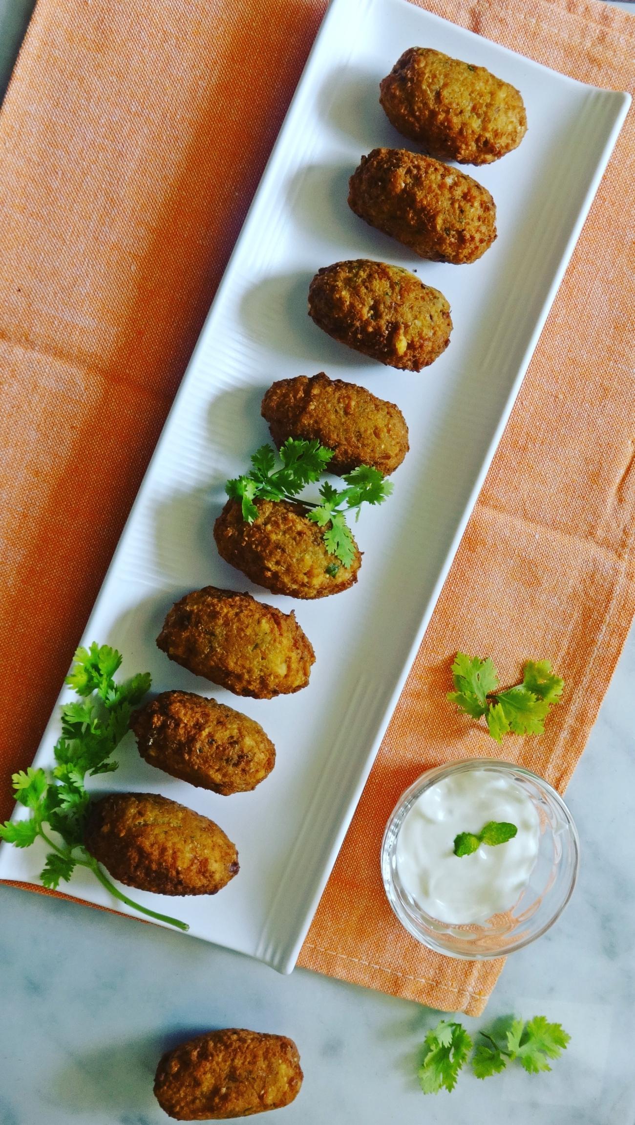 Chickpeas Falafel recipe