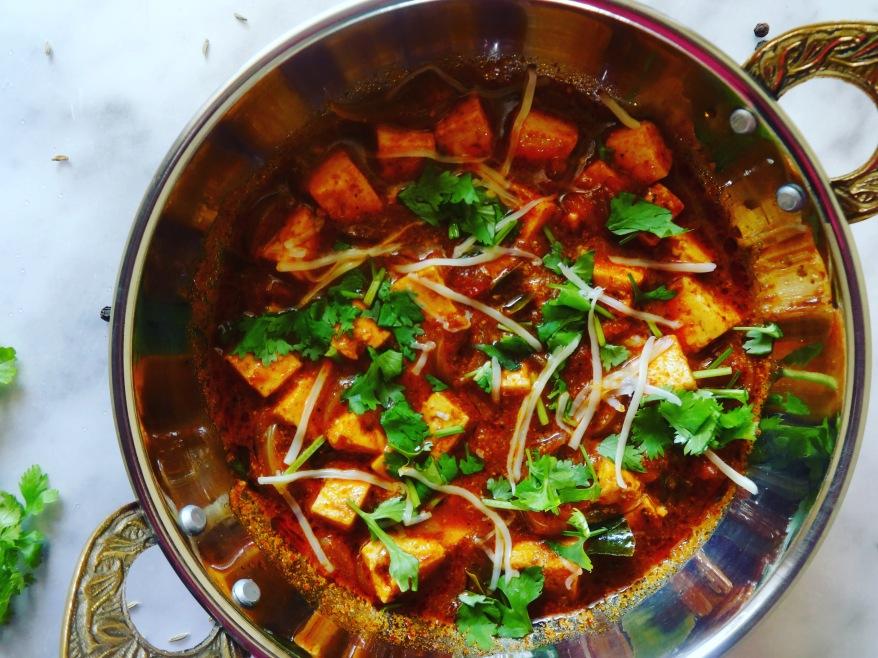 Marinated Paneer Gravy   Kadai Paneer Recipe